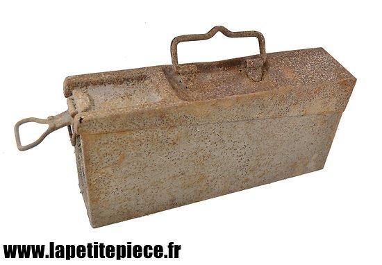Caisse MG 08-15 fer Première Guerre Mondiale