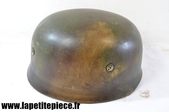 Repro casque parachutiste Allemand camouflé 3 tons