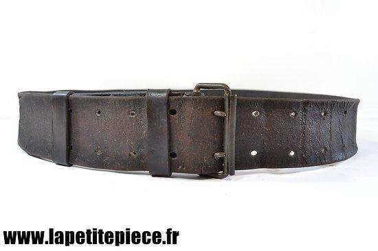 Ceinturon Français modèle 1914 restauré
