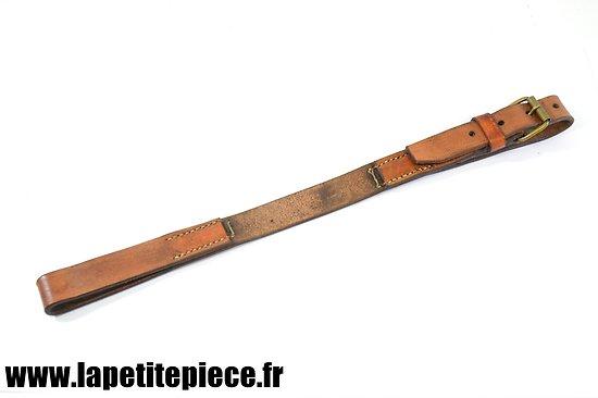 Repro sangle / courroie de selle de cavalerie sabre - Monture Troupes d'Afrique