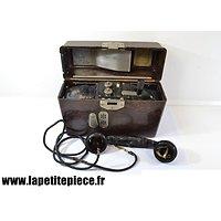 Téléphone de campagne Allemand - 1939 Feldfernsprecher 33