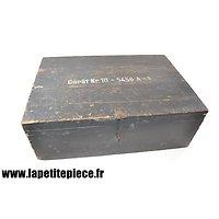 Caisse Allemand matériel 1942 Gerät Nr.10 - 5456 A-1