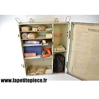 Armoire à pharmacie transportable  Luftschutz WW2
