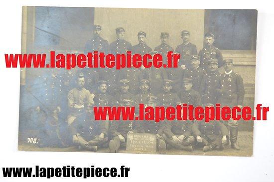 Carte photo Brigade de Givet et Ligne, captivité 1914 - 1915 Zwickau