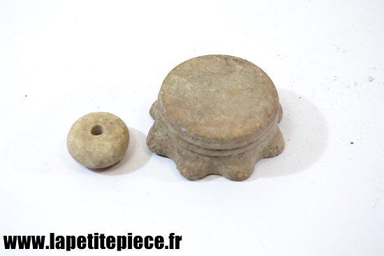 Bouchon et perle Stielhandgranaten Fumigène WW1
