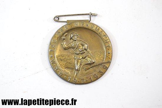 Badge de journée - TAG DER WEHRMACHT W.H.W. 19.3.1939