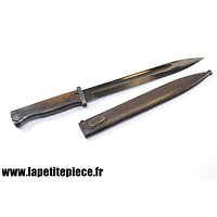 Baionnette Mauser 98K sans marquage fabricant. WaA883