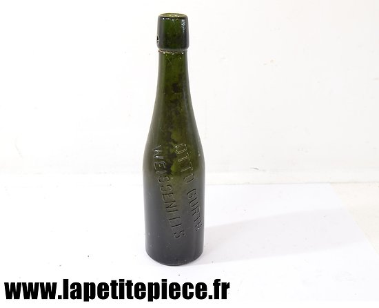 Bouteille de bière Allemande - WW2 - Otto Gürth Weissenfels