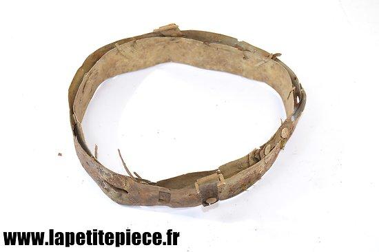 Coiffe / intérieur de casque Allemand modèle 1935 - pièce de terrain