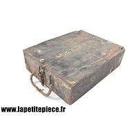 Caisse Allemande WW2 pour 3 obus 8 cm Gr.W.34 (Granate Werfer 34)