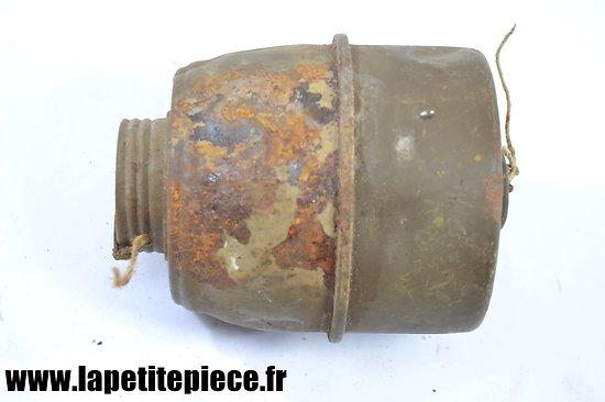 Cartouche de masque à gaz 1935 M France WW2