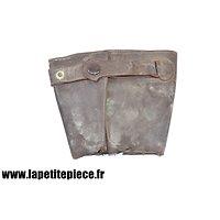 Manchette de gant de vol été Luftwaffe WW2 Flieger Lederhandschuhe
