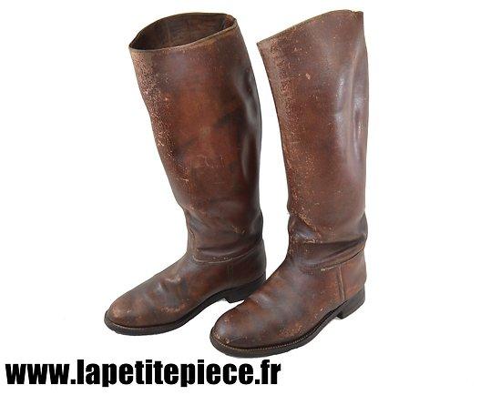 Paire de bottes de cavalerie Françaises