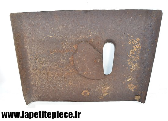 Plaque de protection tranchée - Allemand Première Guerre Mondiale.