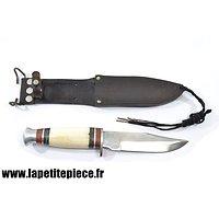 Couteau de chasse américain, idéal reconstitution US WW2