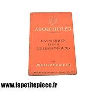 Livre Allemand propagande : Adolf Hitler - Das Werden einer Volksbewegung 1943