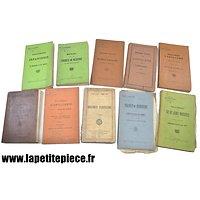 Lot livres / manuel règlement Armée Belge Première / Deuxième Guerre Mondiale