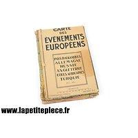 Carte des événements européens début 1944