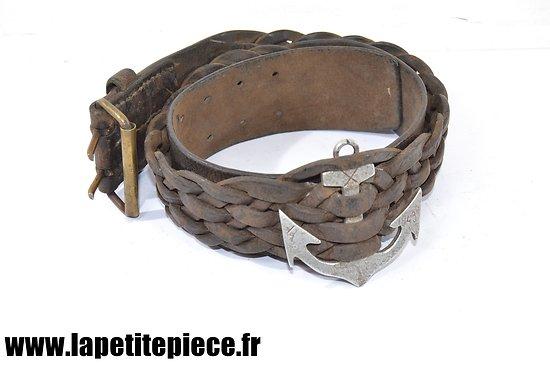 Ceinturon Troupes coloniales France Libre - 1943 FFL