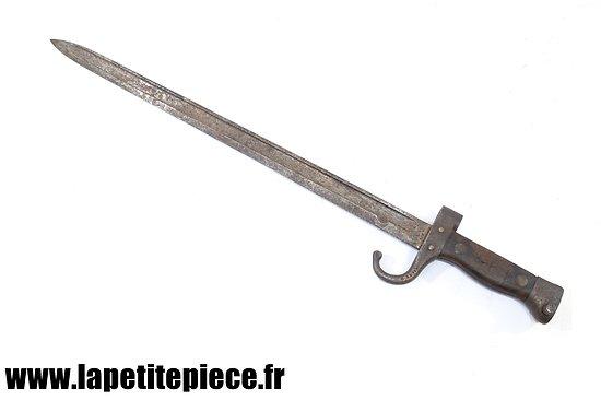 Baionnette Berthier 1892 à quillon - Première Guerre Mondiale