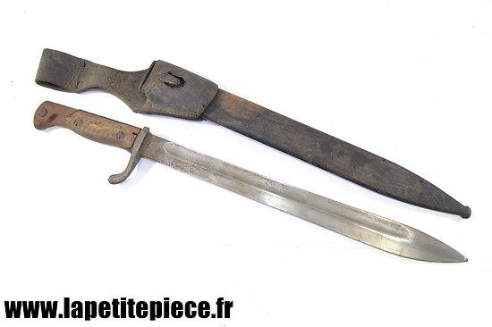 Baionnette Mauser 98-05 Rich.A.Herder Solingen 1915