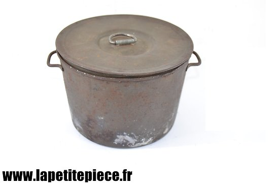 Gamelle Française modèle 1852. France Première Guerre Mondiale