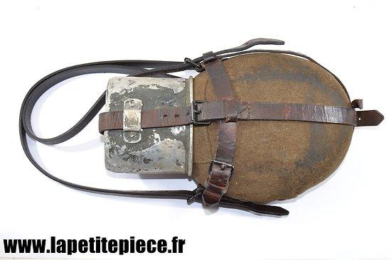 Bidon infirmier / troupes de montagne Allemand WW2
