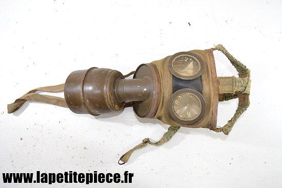 Masque à gaz ANP 31 avec cartouche 1935M - France WW2