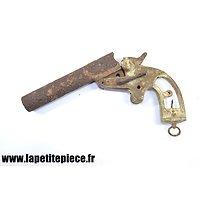 Pistolet lance fusée Français modèle 1917 canon long. Pièce de terrain