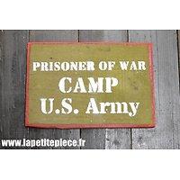 Repro panneau US Camp de prisonniers
