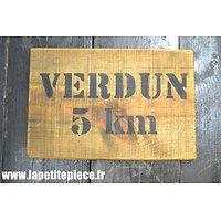 Repro panneau Verdun 5km