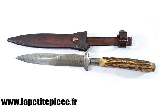 Couteau de combat Allemand Mein Lebensretter DRGM avec étui repro