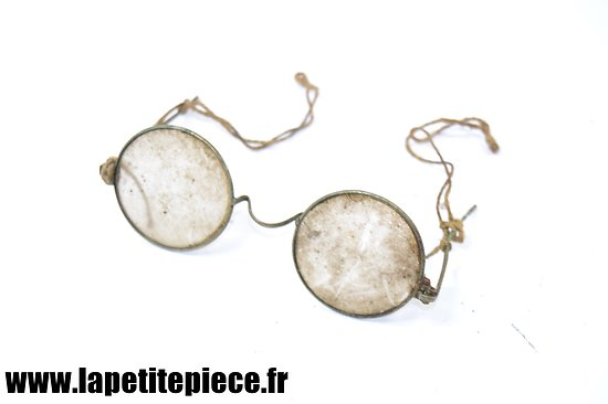 Lunettes réglementaires Allemandes WW2 - Dienst-Brille Brillen