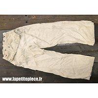Pantalon à pont Kriegsmarine - toile blanche - été