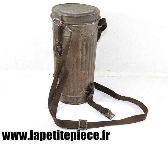 Boitier de masque à gaz Allemand 1940