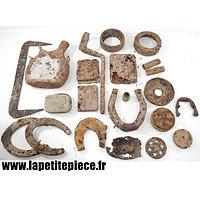 Lot pièces de terrain Première Guerre Mondiale