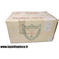 Carton Champagne 1940 - Moët & Chandon cuvée Dom Pérignon