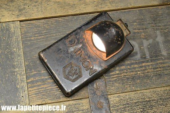 Lampe de poche Allemande Daimon restaurée, WW2.