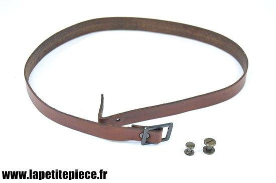 Repro jugulaire casque Adrian modèle 1915 et 1926
