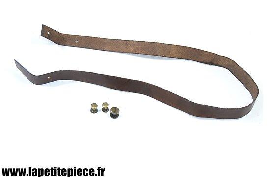 Repro cuir de jugulaire casque Adrian modèle 1915 et 1926