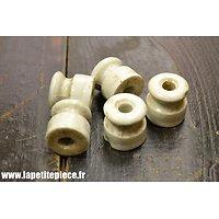Isolateur électrique en porcelaine pour monteur de ligne