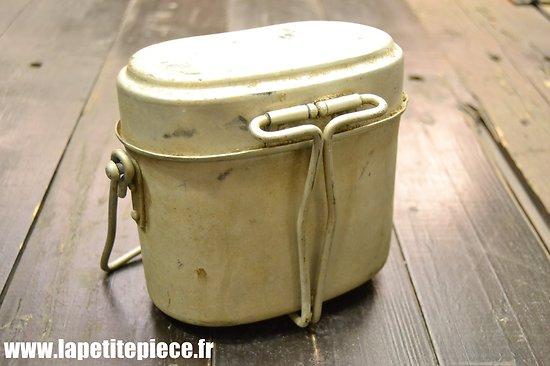 Gamelle Allemande pour Prisonnier de Guerre travailleur Français S.T.O.