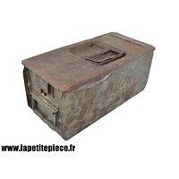 Caisse MG 08-15 double compartiments - Allemande Première Guerre Mondiale