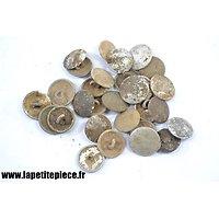 Lot de boutons Allemand vareuse Deuxième Guerre Mondiale