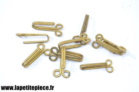 Crochet de ceinturon pour vareuse d'officier Français modèle 1939