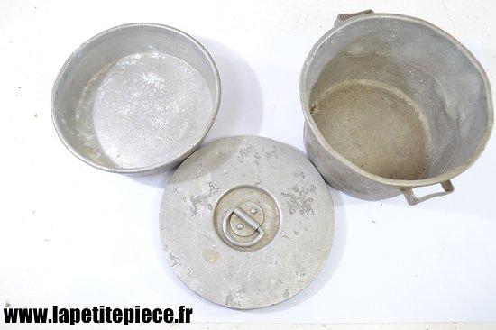 Gamelle Française modèle 1852 en aluminium