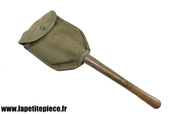 Pelle pliante US Shovel M-1943 + Carrier. AMES 1945