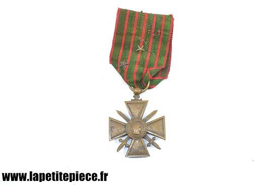 Croix de Guerre 1914 - 1918 avec citations
