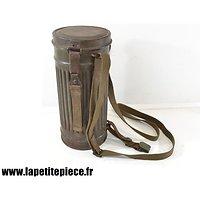 Boitier de masque à gaz Allemand M38 de 1941
