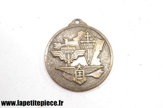 Médaille / pendentif Association des Français Libres